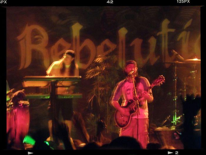 Eric Rachmany of Rebelution. Arizona Reggae Rebelution Marquee Theater
