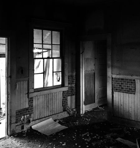 Long gone. Window Abandoned Indoors  Architecture Damaged House No People