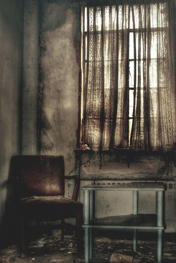 ιf ℓιfє ∂σєѕи'т кιℓℓ уσυ, ємρтιиєѕѕ ωιℓℓ... Abandoned_junkies Abandonment_issues Photography Is My Escape From Reality EyeEm_abandonment Abandoned Insomniac_collection Abandoned Asylum Asylum Loneliness Emptiness Is This Seat Taken? Chair Vintage Curtains Solitude Window View Window Urban Exploration
