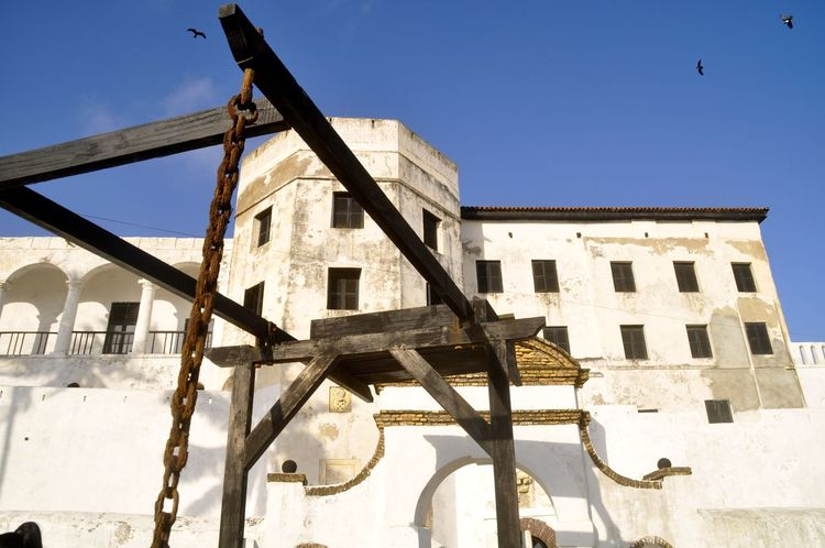 Dungeon Elmina Elmina Castle Ghana Gold Coast Historical Building Historical Monuments Slavery Africa Architecture Building Exterior Built Structure Colonial Colonial Architecture Fort Historical Place History No People Outdoors Slave Slave Trade