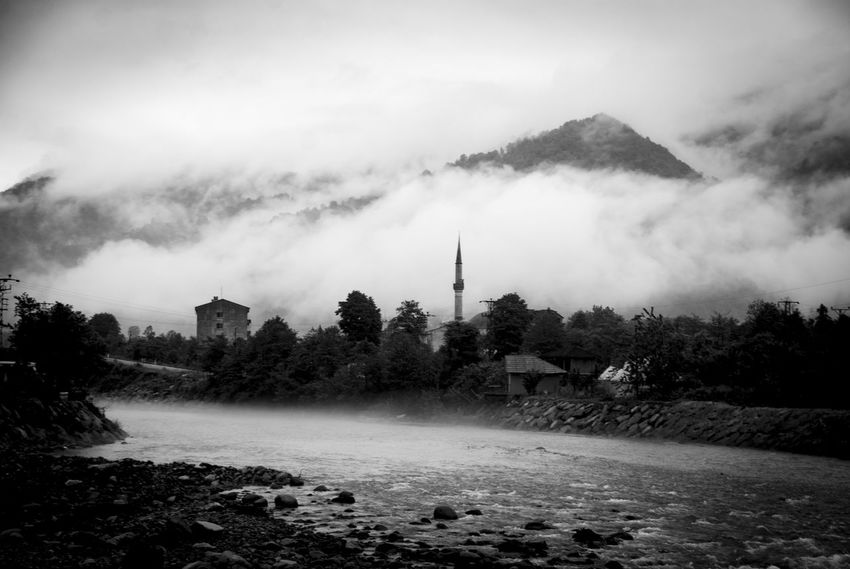 Artvin Black Blackandwhite Landscape Landscape_Collection Rain Rainy Days Sunset Wildlife