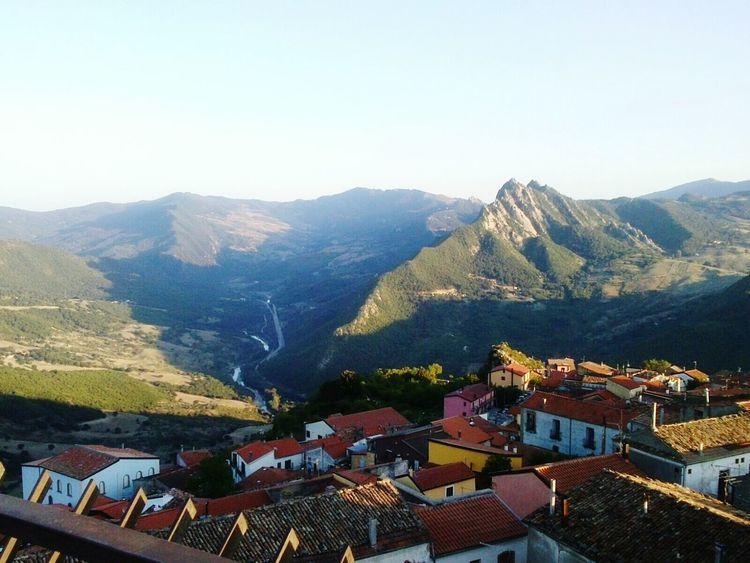 Basilicata Beautiful View Basilicata, Italy  Small Town Nice View Mountains Lucania