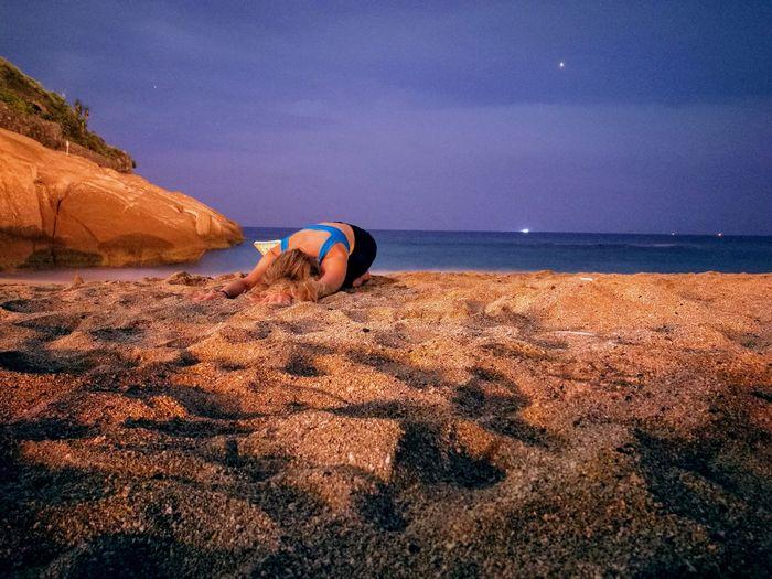 Yoga at nigth