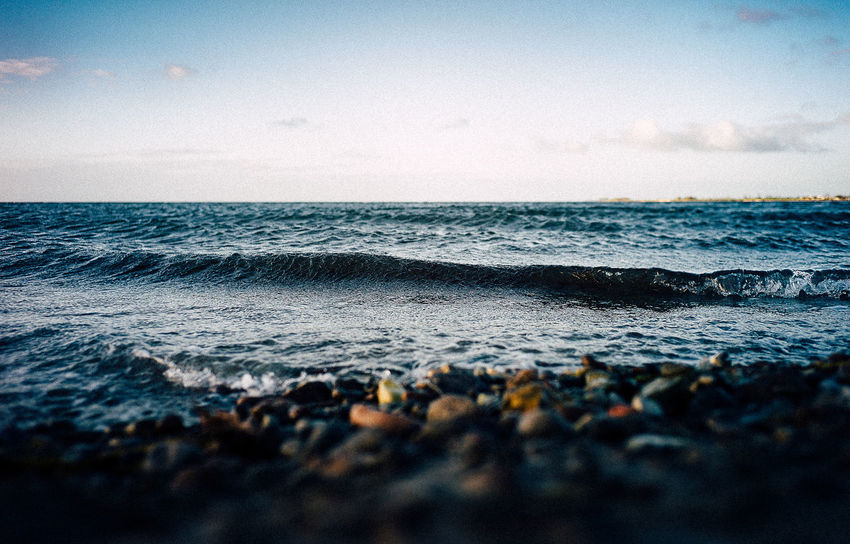 Beach Beauty In Nature Day Friends Horizon Over Water Leica Meer Nature No People Ostsee Outdoors Scenics Sea Sky Tranquility Trip Voigtländer VSCO Water Wave