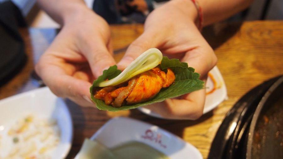 Busan Chicken Food Food And Drink Korea Korean Korean Chicken Korean Food Noodle Ready-to-eat Spicy Food Tasty Traditional Food
