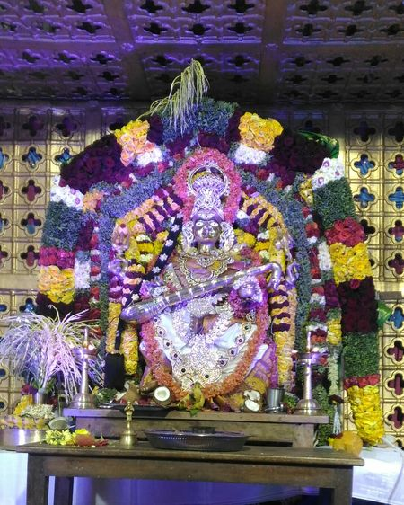 Multi Colored Godess Godess Of Music Godesssaraswathi Godess Of Knowledge And Wisdom Godess Of Knowledge Worship Worshipmusic Worshipping The Godess Prayers Hopes And Dreams Prayer For Friends Blessings Come When You Wait For It <3 Blessedlife Blessed & Thankful :)
