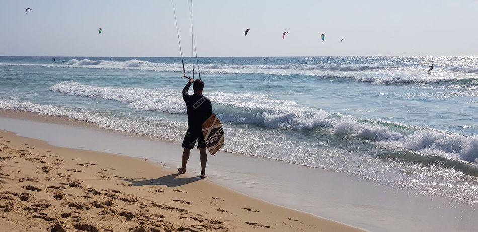 looking forward... Kitesurfing Wave Sea Full Length Beach Water Sand Sportsman Motion Sport Silhouette Windsurfing Surfing Water Sport Surf Surfboard Surfer Kiteboarding
