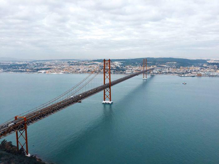 Europe's San Francisco Sky Nature Connection Bridge Transportation Engineering Travel Destinations Cityscape