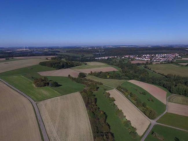 Luftbild von Windsberg Windsberg Luftbild Luftbilder Aerialphotography Aerial Pirmasens Pfalz Landscape Landschaft Feld Felder