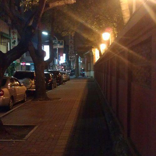 散步 府城 赤坎樓 台南 Taiwan 臺灣 Tainan Night