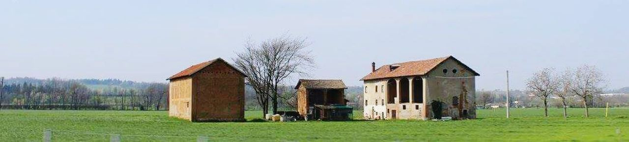 Grass Barn Architecture Built Structure Rural Scene Building Exterior No People Field Agriculture Outdoors Landscape Sky Day Tree Nature