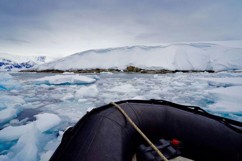 Antarctica Zodiac Ice Sea Ice Travel Original Experiences Ice Mountain Feel The Journey Showcase June