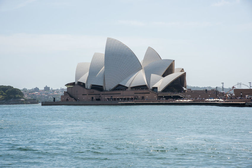 Sydney,NSW,Australia-November 20,2016: Sydney Opera House on Bennelong Point in Sydney, Australia 20th Century Australia Sydney Opera House Sydney Community Sydney Harbour  Tourist Attraction  Venue Architecture Arts Culture And Entertainment Bennelong Point Building Exterior Circular Quay City Expressionist Famous Place Landmark Nature Performing Arts Sea Sky Sydney Tourism Travel Destinations Water Waterfront