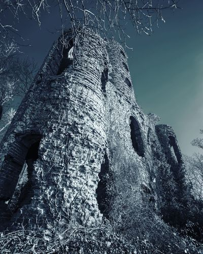 Architecture Haunted Castle Ruined Derelict Low Angle View Nature No People Sky Day Outdoors