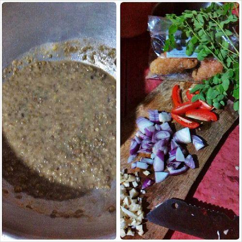 Cooking Munggo Feelingchef :)