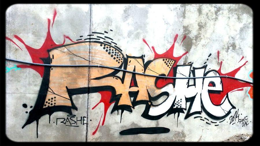 rashe. Abandoned Building Graffiti AWOL Crew Rashe