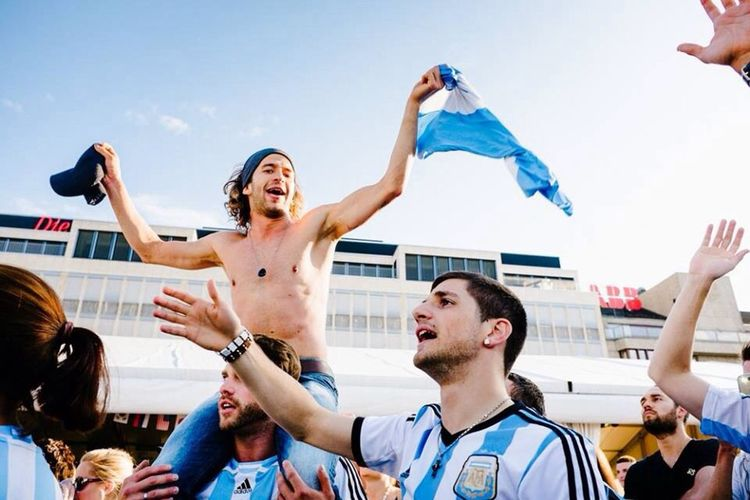 Worldcup2014 Argentina Football Good Times