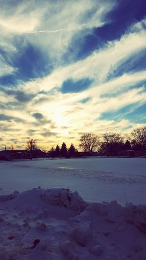 Snow ❄ Beautiful Nature Wisconsin It's Cold Outside Cold Winter ❄⛄ Lovethecoldweather Cloud - Sky