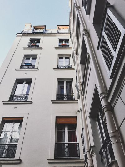 I know I am in Paris when I look out the window. Residential Building Parisian Architecture Paris Apartment Urbanism Urbanity Built Structure Architecture Building Exterior Building Low Angle View Window Residential District City Apartment