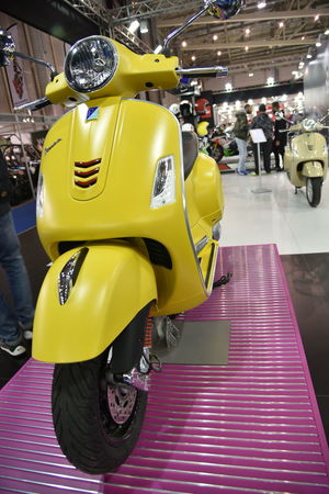 Yellow Transportation Indoors  Full Length People Day Adult Exhibition Exhibit Art Photographic Photograph Photographer Gallery Visitor Watchers Watch See Look Looking Private Public Blurred Blur Out Of Focus Photography Documentary Reportage Street Arts Culture And Entertainment Transportation Technology Athens Motorbike Exhibition 2017