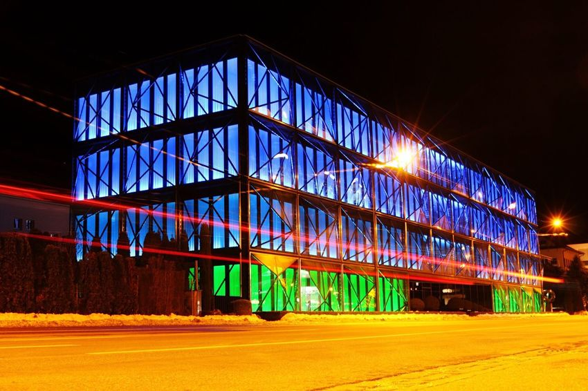 Built Structure Architecture Illuminated No People Building Exterior Night Sky Outdoors