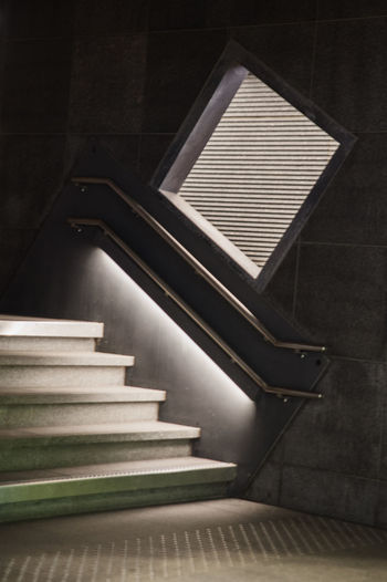 Close-up of staircase