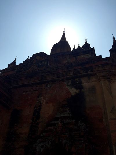Ancient Architecture Bagan In #myanmar Goldenland Myanmar