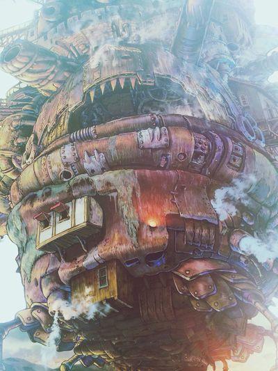 Manga Hayao Miyazaki Howl's Moving Castle Japan