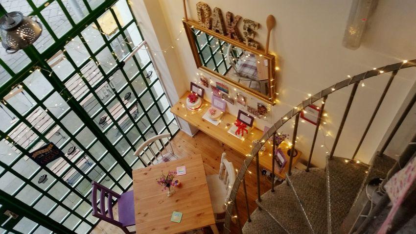 Chitty's Tearoom ❤️ Tearoom Birmingham UK Custard Factory Brum Tea Cake Indoors  No People Day