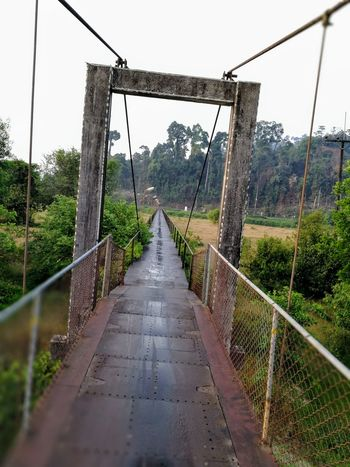 Takuapa Bridge Bridge Photography Metal Bridge Suspension Bridge