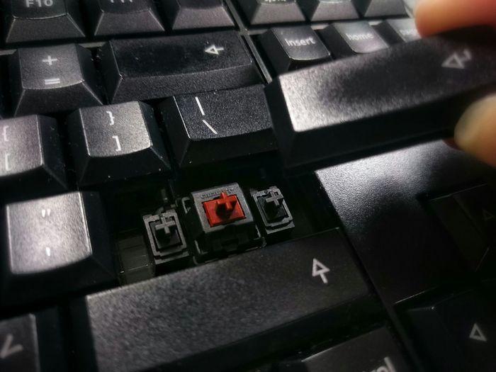 Precision KeyingCherry Mechanical Keyboard