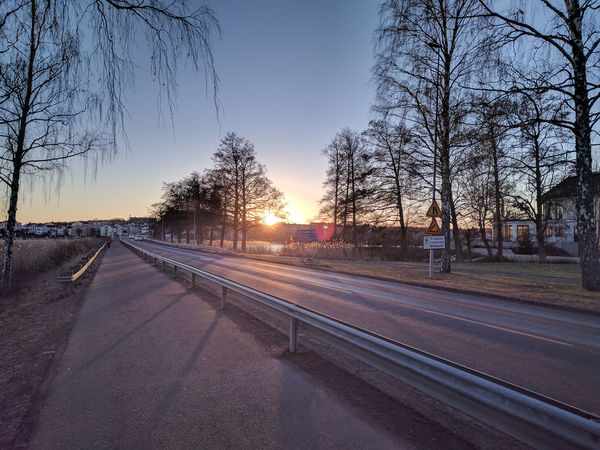 Basic Day Daylight Desolate Dusk Empty Everyday Scene Freezing Hometown Lake No People Normal Day Outdoors Road Sky Small Town Small Town Life Strängnäs Sunset Sweden Winter
