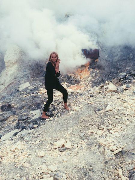 Volcano Crater Acid
