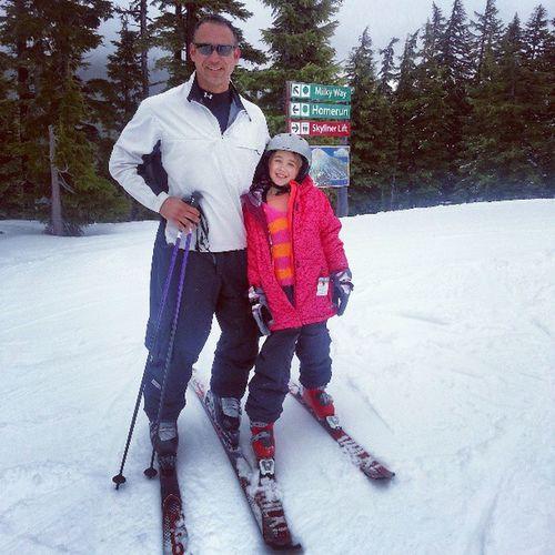My little ski buddy.