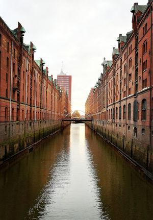 Speicherstadt Hamburg Sunset_collection Architecture Bridge Building Exterior Built Structure Canal City Reflection Water Waterfront