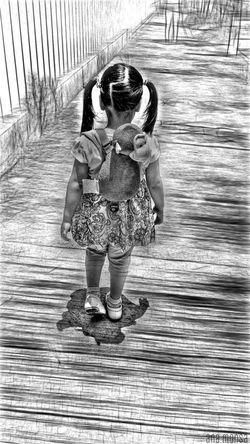 Ella Cosas Cotidianas Family Street Urban Life Edition Photography People Blanco & Negro  Black & White