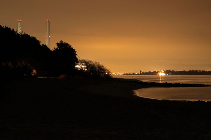 Night pictures in Wedel