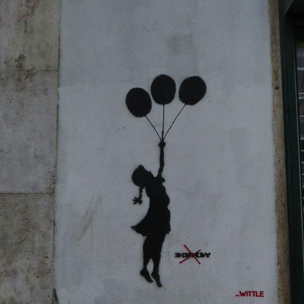 Not Bansky Streetphotography Graffiti Graffiti Art Graffitiporn EyeEm Best Shots Chiquesnourtemo P3top Vscodaily Vscocam