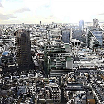 Love London City Skyline Eastlondon Sushisamba Stpuals Gherkin Buildings Colemansounds OneLove