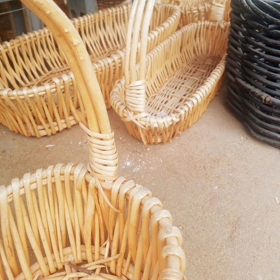 No People Day Outdoors Close-up Basket Weaving