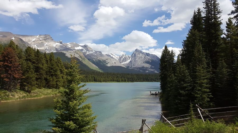 Maligne Lake Nature Photography Nature_collection Lake View Lakeshore Mountains Mountain_collection Relaxing