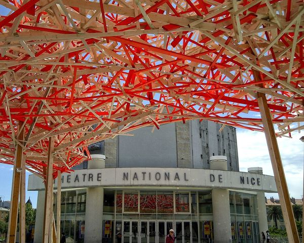 Nice Theatre Theater Nationaltheatre Nice / Nizza France Feel The Journey Adapted To The City Neighborhood Map