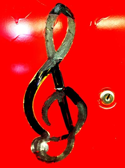 Red Close-up Tradition No People Day Music Sheet Music G Clef