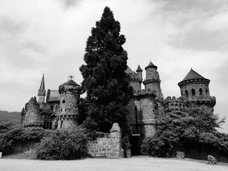 Löwenburg Kassel Monochrome Blackandwhite Princess Fairytale  Castle Burg Märchen UNESCO World Heritage Site