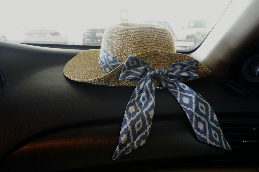 Ready for my holiday! Fashion Car Textile Close-up Luxury Ribbon - Sewing Item No People Indoors  Wool Day Hat Fashion Beauty Item Summer