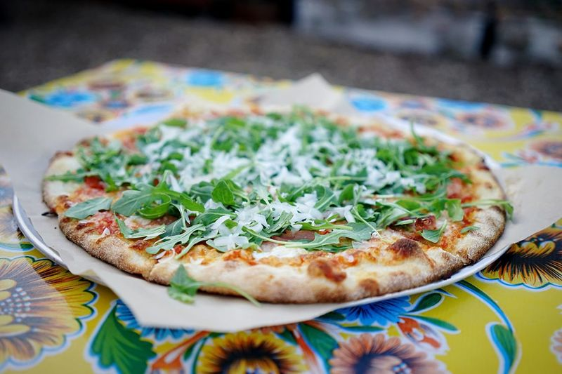 """Pizza. So, so, soooo good. At """"All Good Pizza"""" in Bayview. Pizza Pizzalove"""
