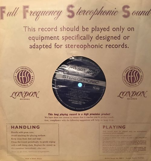 Back-N-the-day Record Stereophonics Sound Full Frequency Long Playing Record Diamond Stylus 33 1/3 Rpm JustGPhotos