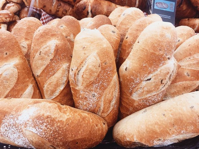 Bread for sale at market