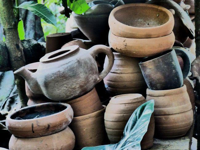 Art And Craft No People Handicrafts Clay Artesania Artesanias Nicaraguenses Barro Vasijas