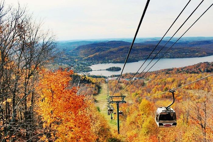 Automn Colors Automne Canada Colors Landscape Mont-Tremblant Nature Tourism View